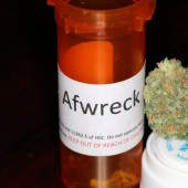 Afwreck medical marijuana bud